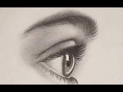 في هذا البرنامج التعليمي ستتعلم كيفية رسم العين من الجانب من البداية بالخطوات بدء ا من دائرة وجميع الخطوات How To Draw Eyelashes Realistic Eye Eye Drawing