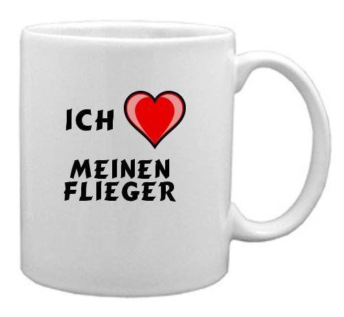 Keramische Tasse mit Aufschrift Ich liebe meinen Flieger - http://geschirrkaufen.online/shopzeus/keramische-tasse-mit-aufschrift-ich-liebe-meinen-2