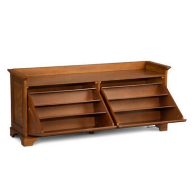 Essex Double Tilt Out Shoe Bench Improvements Furnituredesign Bench With Shoe Storage Shoe Bench Shoe Storage