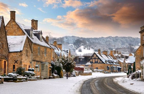 Broadway, England 8 Lesser-Known Destinations for a Traditional European Christmas