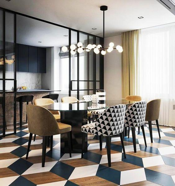60 Modern Dining Room Design Ideas Projeto Da Sala De Jantar