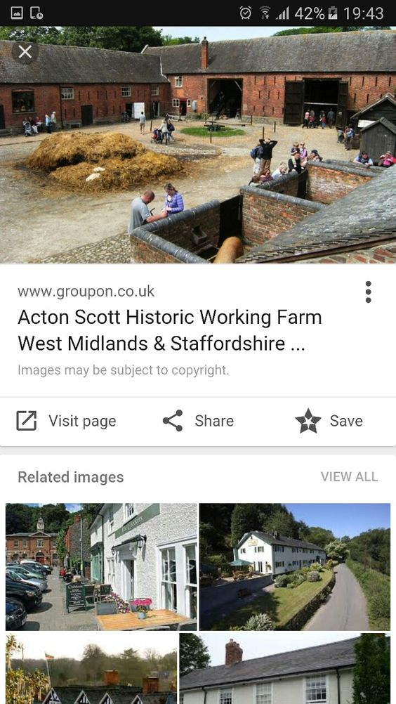 Acton Scott working farm