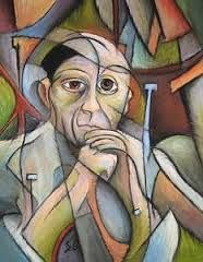 Portrait of Pablo Picasso by Steve Gribben: