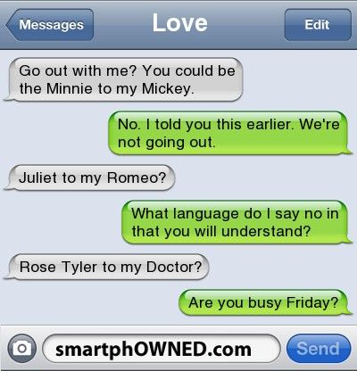 This is the way to win a Whovian.>>>> I would break my vow of singleness and go out with someone who said that to me!