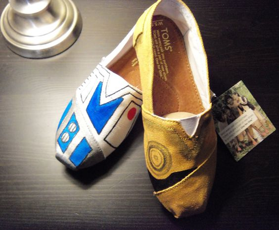 Bucket List: Hand-painted Toms.