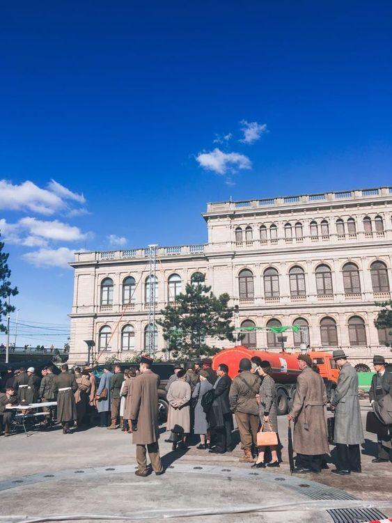 В Калининграде снимают фильм Нюрнберг 2021