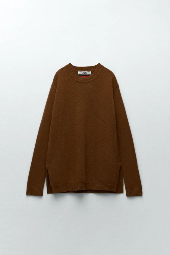 CHARLOTTE GAINSBOURG COLLECTION CASHMERE SWEATER Zara