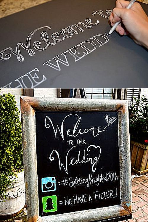 25 Wedding Signs To Make Your Guests Feel Welcome At Your