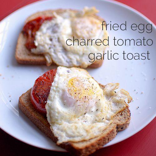 ... garlic toast | Breakfast | Pinterest | Fried Eggs, Toast and Garlic