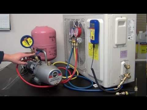 Module 7 Gauge Connection And Set Up Youtube Electrical Wiring Residential Electrical Elec Refrigeration And Air Conditioning Commercial Hvac Vacuum Pump