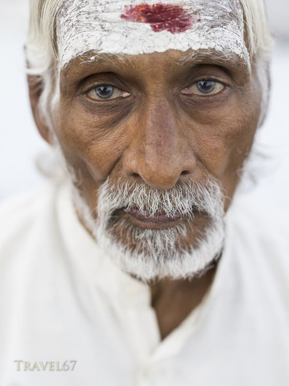 Sadhu in White by Chris Willson on 500px