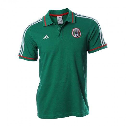 Siénte la emoción de tu equipo y vístete con los colores patrios con la camiseta FMF Adidas Polo la cual luce un diseño emblemático de la Selección Mexicana de Fútbol.