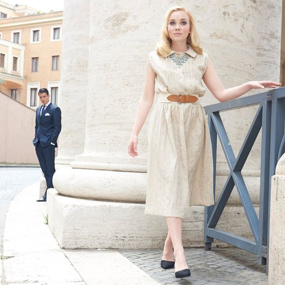 free dress pattern - Vichykarokleid (19/2)