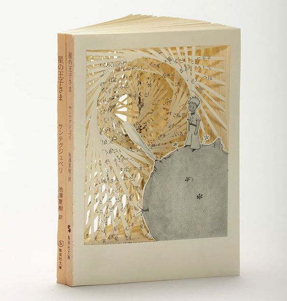 Wunderbare Buchskulpturen von Tomoko Takeda