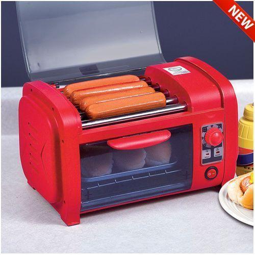 Great For Summer Hot Dog Roller Grill Cooker Machine And Bun Warmer Small Toaster Ballpark Hotdog 56 96 On Ebay Pinterest