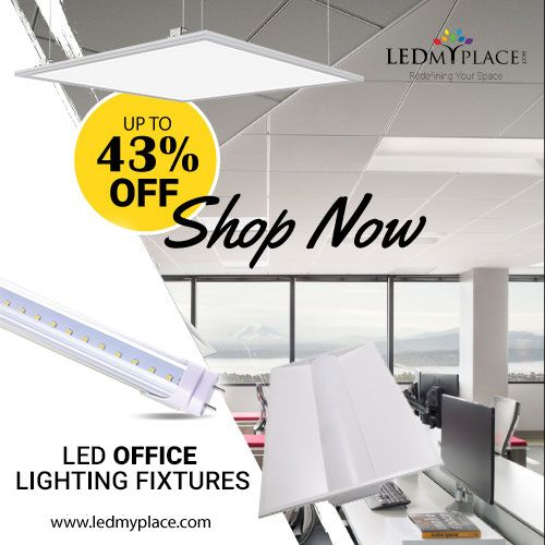 Illuminate Your Office With Led Office Lighting Fixtures Led Office Lighting Office Lighting Ceiling Indoor Lighting