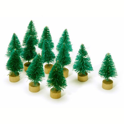These Miniature Sisal Trees Are Perfect For Any Small Display Outdoor Christmas Decorations Christmas Decorations Green Christmas Tree