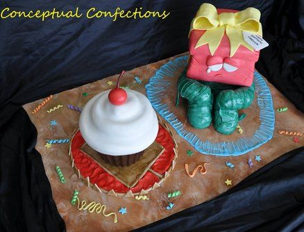 league of legends re gifted amumu cake by