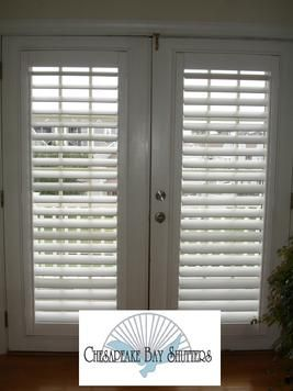 French Doors Window Treatments And Shutter Blinds On Pinterest
