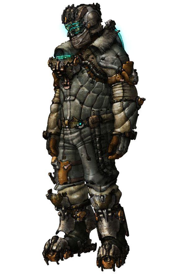 Dead Space 3 - Snow Suit | Video Games | Pinterest | Page ...
