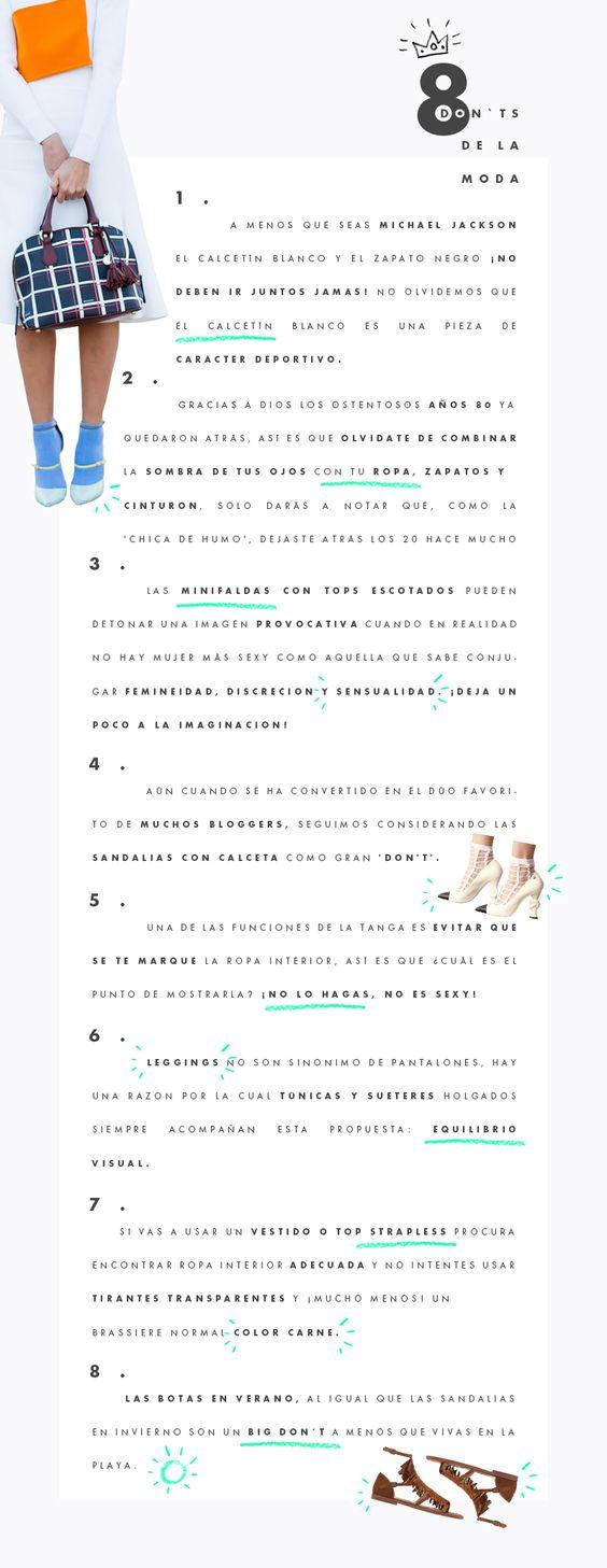 8 don'ts de la moda : ELLE