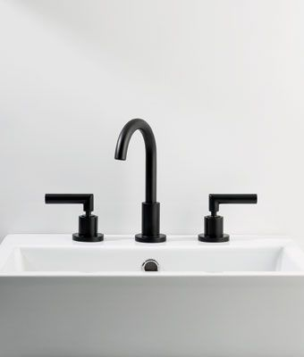 Black Bathroom Taps : ... freedom in the bathroom. Available in Durobrite? Chrome finish