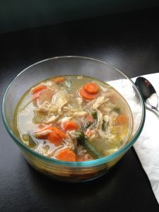 So many vitamins and minerals in one bowl of soup! Boost the immune system!