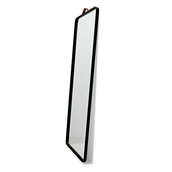 main image of Norm Floor Mirror 600$ Take IKEA and add leather strap? ou corde comme miroir