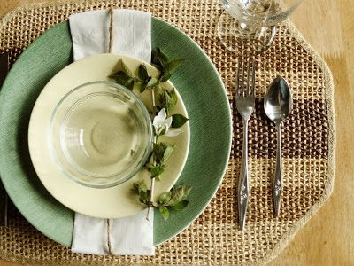 Down on Sanford: Spring Table Setting: