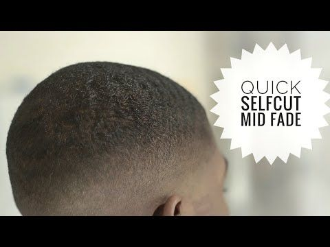 How To Give Yourself A Quick Mid Fade In 5 Minutes Selfcut Youtube Mid Fade Faded How To Fade
