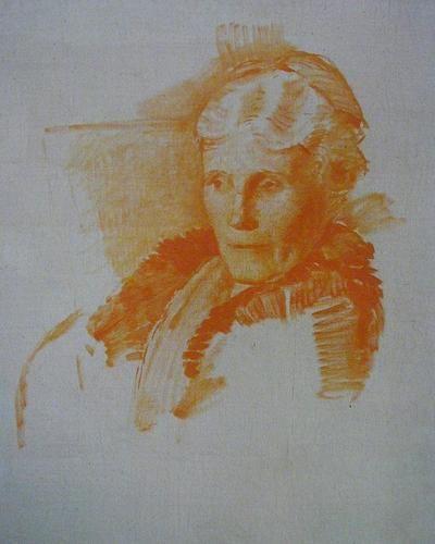 Gertrude, study © 2012 Carl Schmitt Foundation