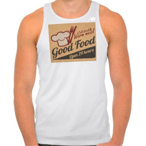 Good Food Shirt Tank Tops