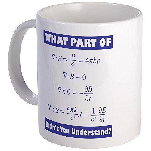 Geek Nerd College Science Magic NOVELTY MUG Funny Mugs Quantum Physics