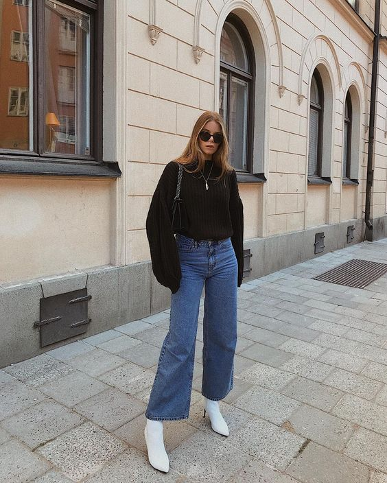 Wide jeans perfection