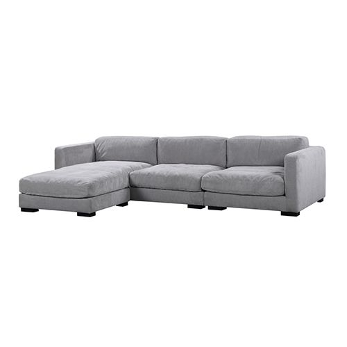 Vienna Dark Grey Corner Sofa Corner Sofa Lounge Suites Grey Chaise Sofa