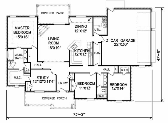 Stunning House Plans With Mudroom And Pantry Photos - Today ...