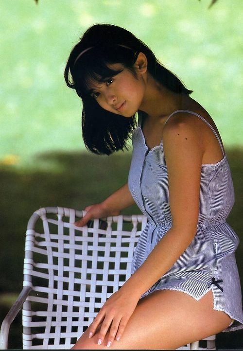 斉藤由貴の水着の高画質な画像11