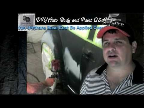 Can Urethane Base Coat Be Applied Over Lacquer?  DIY Auto Body and Paint Q