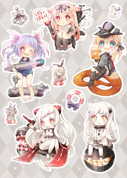 ✿ KanColle Sticker Set ✿ · ✿ Requi ✿ · Online Store Powered by Storenvy
