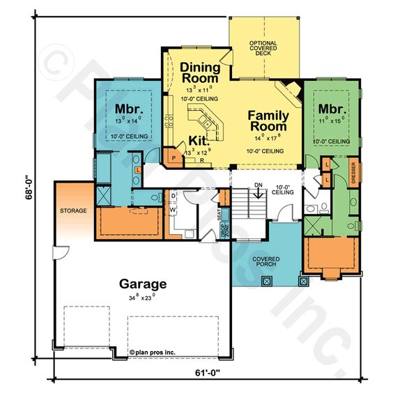 17 Best 1000 images about Design 29354 Bedroom floor plans Master