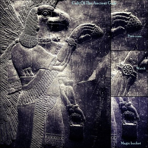 "The Anunnaki, a group of deities ""Those who from heaven came"" in ancient Mesopotamian cul-tures: the Anunnaki appear in the Babylonian creation myth, Enuma Elish. In the late version magnifying Marduk, after the creation of mankind, Marduk divides the #Anunnaki & assigns them to their proper stations, 300 in heaven, 300 on the earth"
