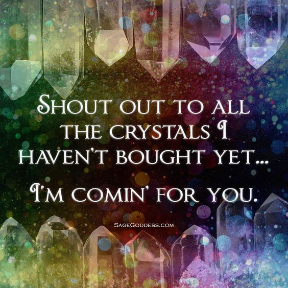 Shout Out to My Crystals! #gems #gemstones #crystals #sagegoddess