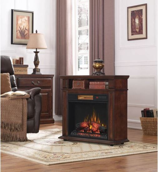 Duraflame Rolling Mantel Electric Fireplace 149 99 611768113545