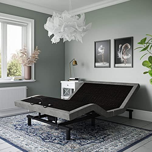 New Signature Sleep Gold Power Adjustable Upholstered Bed Base