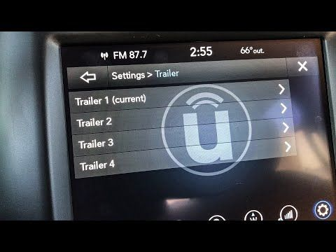 Ram 1500 How To Activate Trailer Brake Controller With Alfaobd