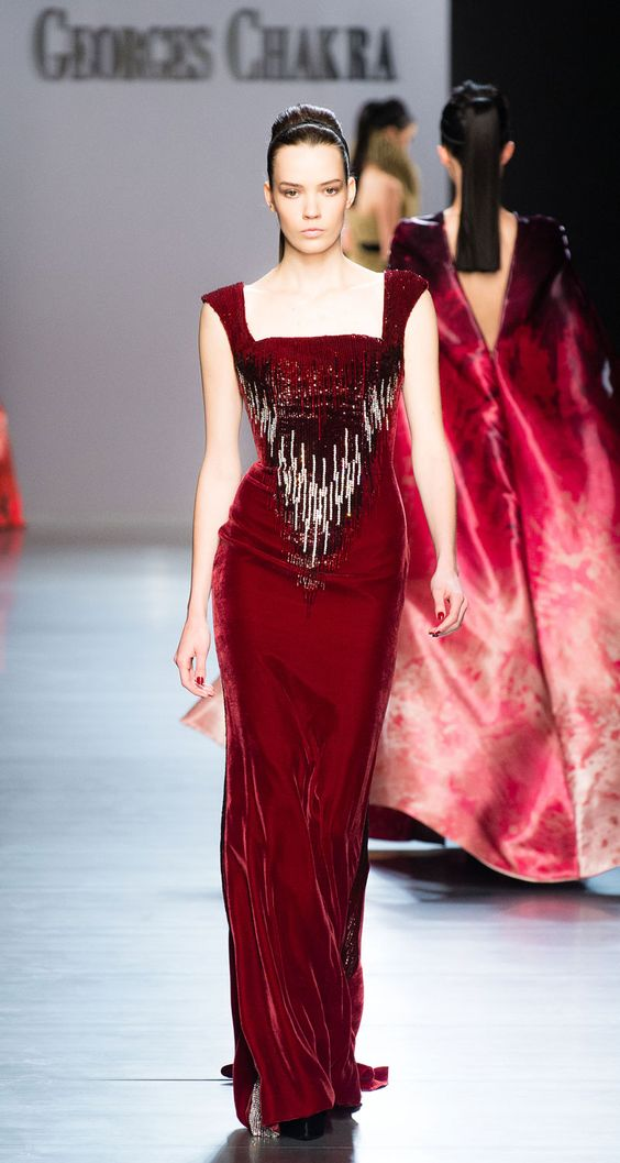 Look 26 by Georges Chakra - Couture 2014-2015