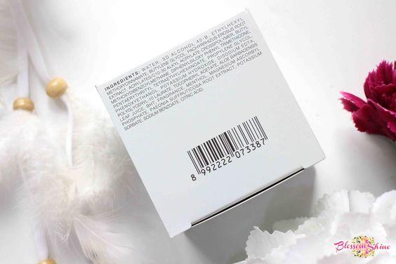 Pixy White-Aqua Day Cream Ingredients