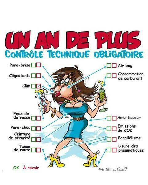 Carte Anniversaire Humour Femme
