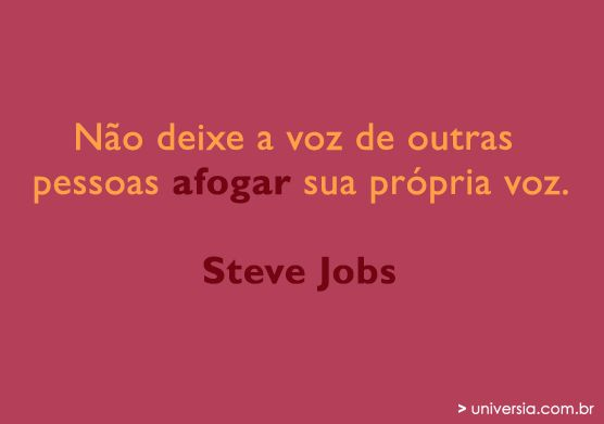 15 frases motivacionais de Steve Jobs: