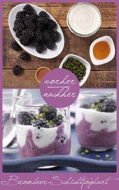http://eatsmarter.de/rezepte/brombeer-schichtjoghurt Ein perfektes Dessert oder Frühstück!